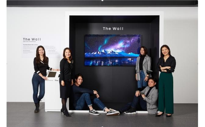 H Samsung παρουσιάσει στην CES μια οθόνη 219 ιντσών